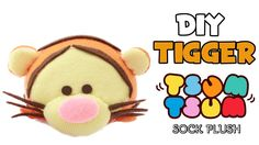 DIY Tigger Tsum Tsum Sock Plush | Collab with BudgetHobby