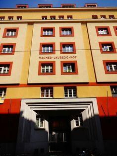 Wagner-Jauregg-Hof Vienna Broadway Shows, Austria, Switzerland, Places, Red, Vienna, Lugares