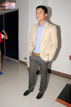 Jericho Rosales goes for the formal look