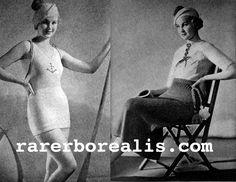 The Vintage Pattern Files: 1930's Knitting - Beach Ensemble