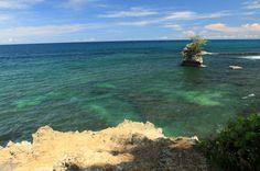 playa blanca manzanillo blue water   - Costa Rica