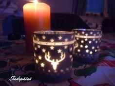 Sadepäivän pisaroita Candle Holders, Candles, Candy, Candelabra, Candle, Candle Stands, Pillar Candles, Lights
