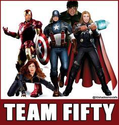 Happy Halloween! Team Fifty Assembled (E L James, Dana Brunetti, Michael DeLuca, Kelly Marcel, Sam Taylor-Johnson)