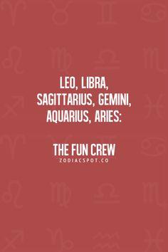 My crew basically