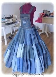 Резултат слика за recycled jeans couture