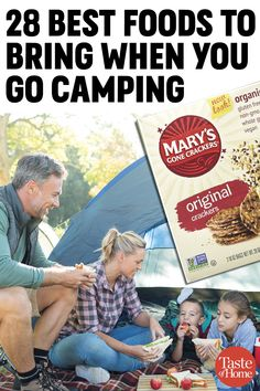 Camping foods aren't just potato chips and fruit snacks. These camping snacks are easy to make at home, so bring a few along for the ride!