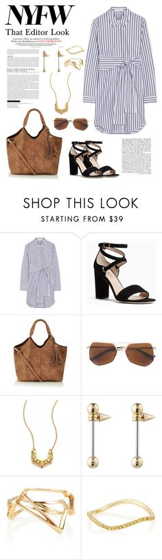 """NYFW: That Editor Look"" by windrasiregar on Polyvore featuring T By Alexander Wang, Kate Spade, Grey Ant, Pamela Love, Eddie Borgo and Monique Péan"