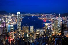 Hong Kong, China. I am fascinating with huge cities such as this one, I am sure I would never run out of things to do.