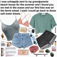 This is so cringey but I love the style 😂 *i love this so much i hate it* Aesthetic Fashion, Aesthetic Clothes, Casual Outfits, Summer Outfits, Fashion Outfits, Aesthetic Memes, Mein Style, Just Girl Things, Passion For Fashion