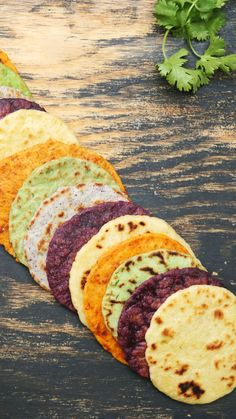 Skip basic tortillas and enjoy cilantro, blue corn, hibiscus, sun-dried tomato and roasted garlic offerings instead The post Tortillas 5 Ways appeared first on Best Pins for Yours - Food and drink Mexican Dishes, Mexican Food Recipes, Vegetarian Recipes, Dinner Recipes, Cooking Recipes, Healthy Recipes, Snacks Recipes, Cooking Tips, Comida Diy