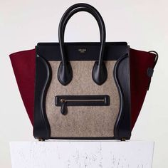 celine tote bag price - Sac Luggage Micro Mod��le en Veau Grain�� et Nubuck Multicolore ...