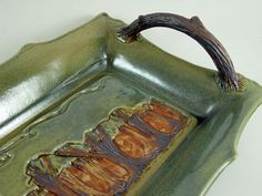 Ceramic Tray Art Pottery