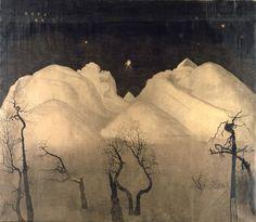 fletchingarrows:  northern winter night