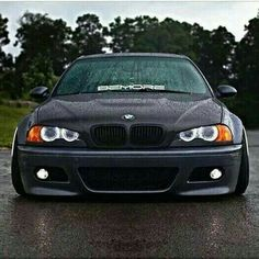 BMW grey slammed in the rain E46 M3, Bmw E46, E36, E46 Sedan, E46 Coupe, Street Tracker, Honda Cb, Triumph Bonneville, Bmw X5 F15
