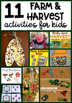11 Farm and Harvest Activities for Kids
