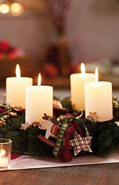 Kerzenschein und Tannenduft für die gemütlichsten Stunden