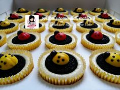 Ladybug - Oreo Condenser Milk Cheese Cake
