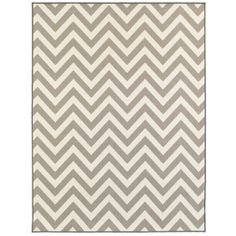 Oriental Weavers of America Avalon Gray Rectangular Indoor Tufted Area Rug (Common: 5 x 7; Actual: 60-in W x 79-in L)