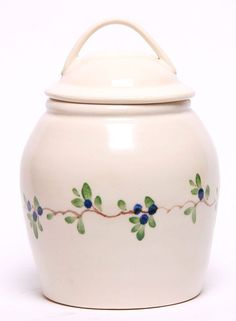 Ceramic Cookie Jar - Blueberry