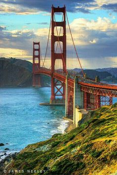 The Golden Gate Bridge, San Francisco.