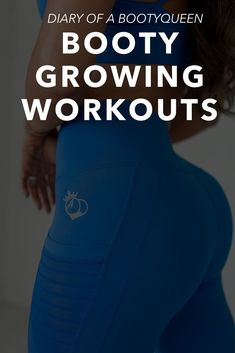 Get the ultimate Booty growing guide! Written by the BootyQueen. These exclusive glute growing guides can only be found here! Booty building workouts for the gym, at home, with weights, for fitness, a plan, motivation, lower bodies, workout, health, and booty shape. #bootygrowingworkouts #glutegrowingworkouts