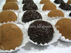 Trufas de Chocolate | DeNIKAtessen - Recetas de Cocina