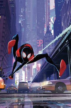 Miles Morales Spider-Man Cover C Incentive Into The Spider-Verse Animation Variant Cover (Spider- Marvel Comics, Marvel Art, Marvel Heroes, Marvel Characters, Marvel Avengers, Spiderman Marvel, Amazing Spiderman, Spiderman Spider, Spider Gwen