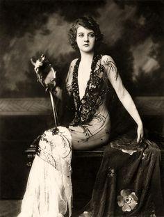 Ziegfeld girls   Katherine Burke