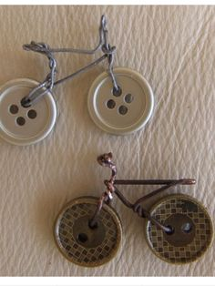 for pinning on jackets or giveaway for good safety deeds. Spray paint reflective? Bicycle Pin
