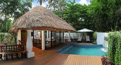 Villa mit Privatpool im Carnoustie Resort, Kerala (c) Carnoustie Resort