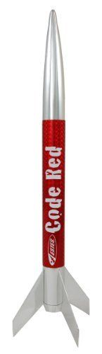 Estes Code Red RTF Model Rocket Kit by Estes. Save 16 Off!. $12.59. From the Manufacturer                Fully Assembled. It just doesn't get any easier than that. The Code Red flies to an amazing height of 725' on standard engines.  Estes model rocketry is recommended for ages 10 and up with adult supervision for those under 12. Unless otherwise specified, all models require assembly. Tools, construction and finishing supplies sold separately. In order to launch, a Launch system, model…