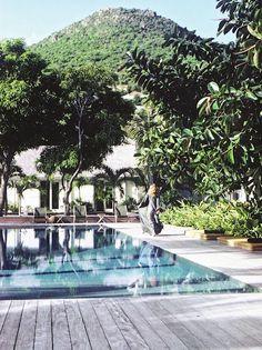 Le Manoir, St Barts- home of interior designer Cristina Rodriguez
