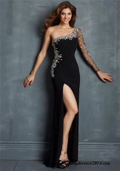 Image from http://www.misspool.com/wp-content/uploads/2014/09/bead-long-sleeve-one-shoulder-night-moves-slit-dress-night-moves-cheap-homecoming-dresses-prom-14118270068gk4n.jpg.