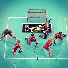 Floorball formation