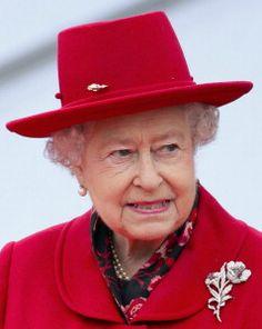 Queen Elizabeth, April 25, 2012   Royal Hats