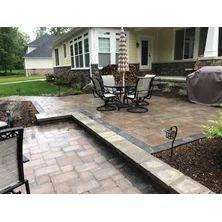 Edit project Brick Paver Patio, Wall Design, Landscape, Outdoor Decor, Nature, Home Decor, Courtyards, Landscape Paintings, Interior Design