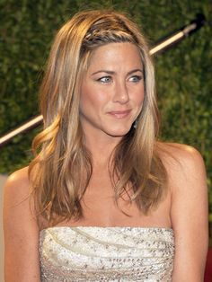 The Evolution Of Jennifer Anistons Iconic Hair Hair Jennifer inside size 2321 X 3000 Jennifer Aniston Braid Hairstyle - There are lots of braid hairstyles Side Braid Hairstyles, Boho Hairstyles, Celebrity Hairstyles, Summer Hairstyles, Pretty Hairstyles, Wedding Hairstyles, Perfect Hairstyle, Hairstyle Men, Style Hairstyle