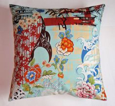 Throw Pillow 16x16 Removable cover sewn with by PersnicketyHome, $13.95