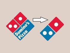 Novo logo da Domino's Pizza nos EUA