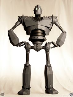 "New Iron Giant 16"" toy brought forth by Mondo @ the latest International Comic-Con in San Diego..."