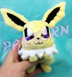 PATTERN In The Hoop Pattern for Jolteon Beanie by SoapyBacon