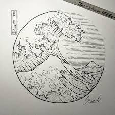Image result for sketched waves dot