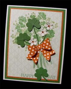 Happy Shamrock Day by Alene - Cards and Paper Crafts at Splitcoaststampers