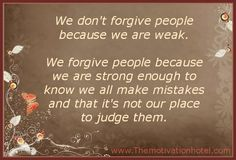 The Motivation Hotel: Forgiveness