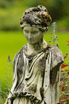 """Study of Time"" Weathered Statue at Minter Gardens at Chilliwack BC 03Jun2012 by frosty_white_raven, via Flickr"