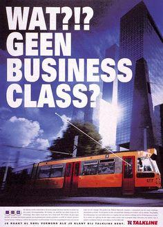 "Telecom Provider: ""TRAM"" Print Ad  by Mccann-erickson Nederland"