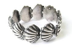 Bracelet | Margot de Taxco.  Silver.  ca. 1950s.