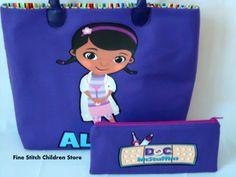 Girl Purple Doc Mcstuffins Bag