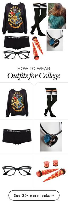 """""""Untitled #966"""" by thugpugbri on Polyvore featuring Pieces"""