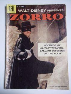Dell Comics Walt Disney Presents Zorro No. by SirKsCollectibles, $8.95